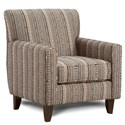 VFM Signature 702 Accent Chair - Item Number: 702Tanzania Mudcloth
