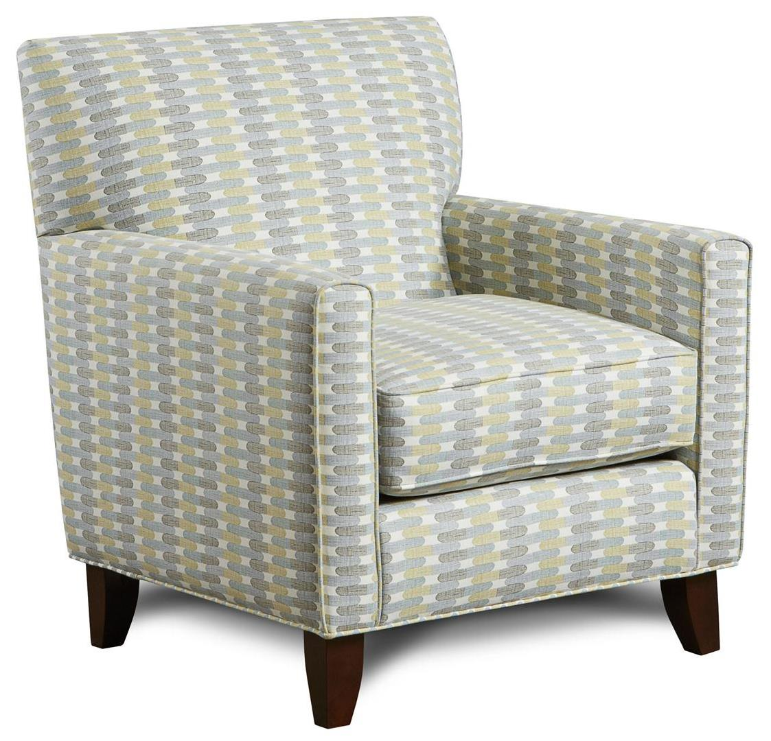 Fusion Furniture 702 Contemporary Accent Chair Olinde 39 S