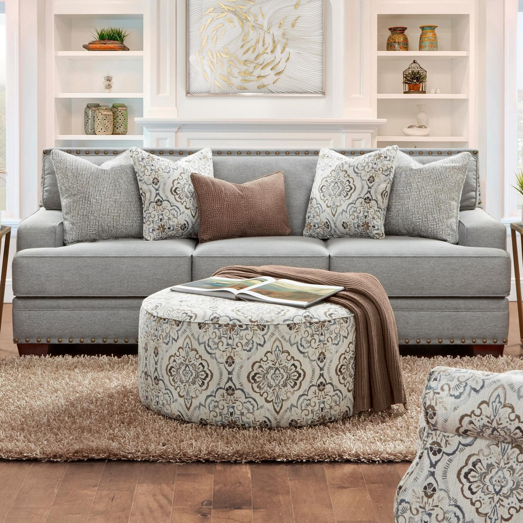 8700 Sofa by Fusion Furniture at Miller Waldrop Furniture and Decor