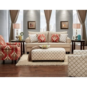 Fusion Furniture 9240 Stationary Living Room Group