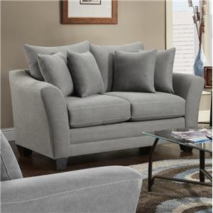 Fusion Furniture Urban Rider Loveseat