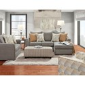 Fusion Furniture Bedford Stationary Living Room Group - Item Number: 9770 Living Room Group 1