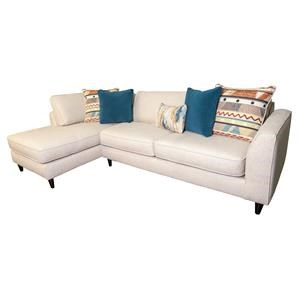 Ayslee Sectional with Accent Pillows