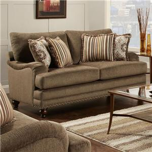 Champ Walnut 4460 By Fusion Furniture Regency Furniture Fusion Furniture Champ Walnut Dealer