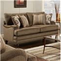 Fusion Furniture Champ Walnut Loveseat - Item Number: 4461