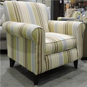 Fusion Furniture Clearance Upholstered Arm Chair