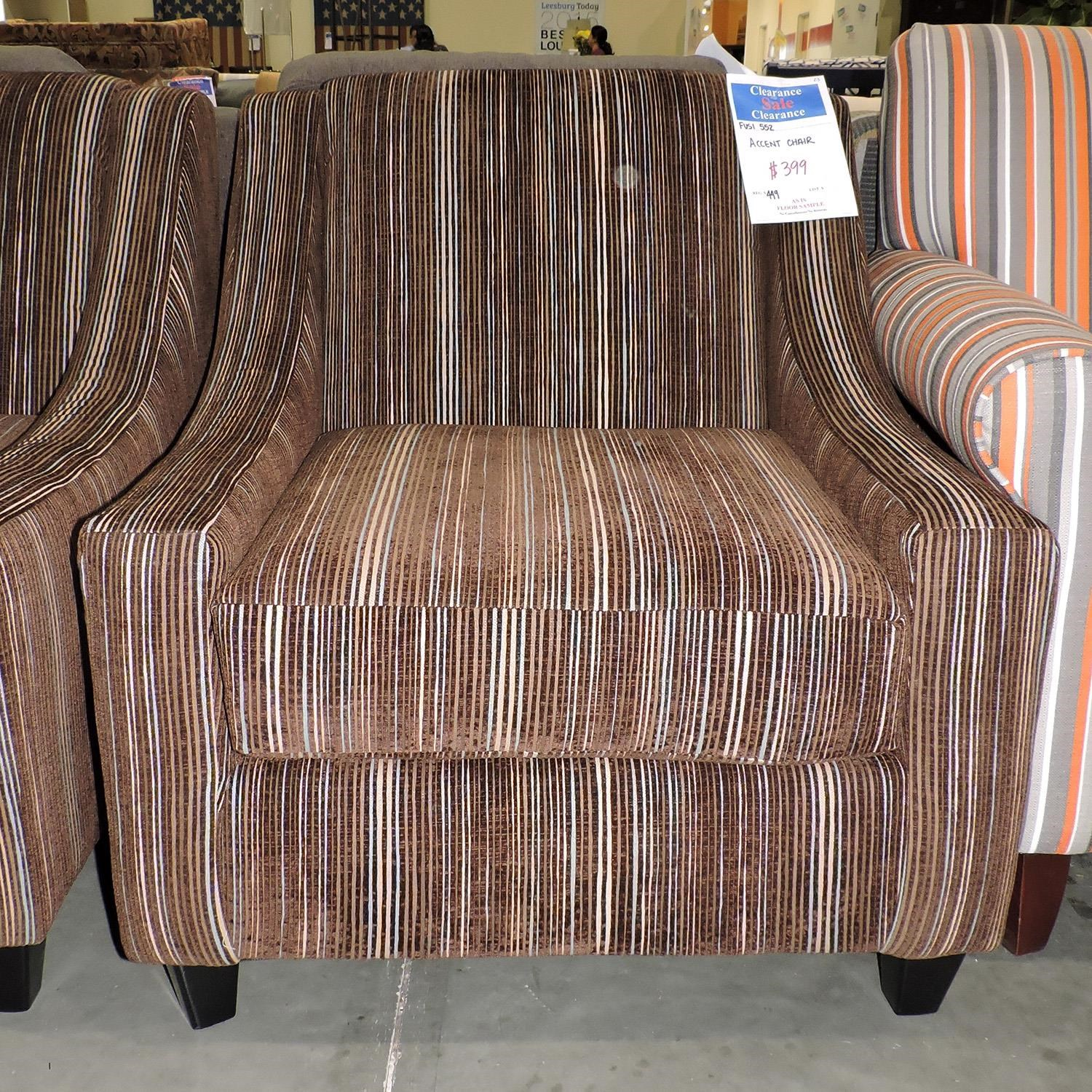 Fusion Furniture Clearance Accent Chair - Item Number: 552477531
