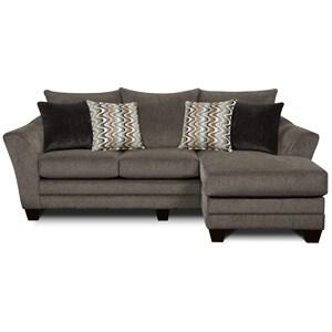 Fusion Furniture 9700 Sofa Chaise