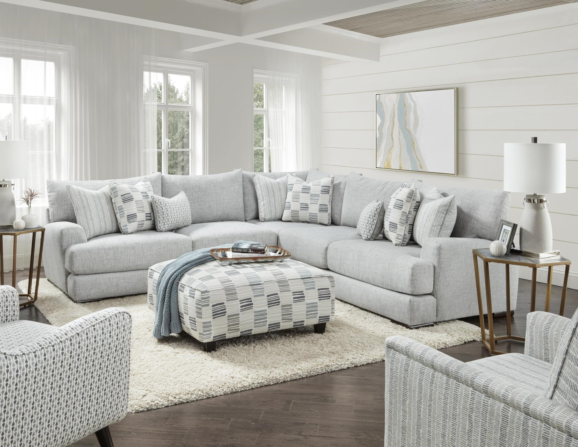Entice Entice Sectional by Fusion Furniture at Stoney Creek Furniture
