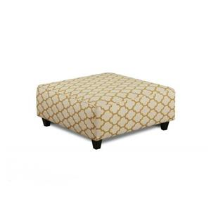 Fusion Furniture 109 Cash Citrine Cocktail Ottoman