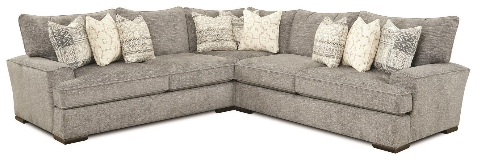 Indra Indra Sectional Sofa by Fusion Furniture at Morris Home