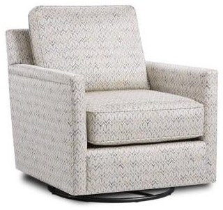 Mitra Mitra Swivel Glider by Fusion Furniture at Morris Home