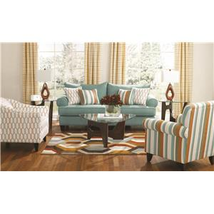 Fusion Furniture 9210 Stationary Living Room Group