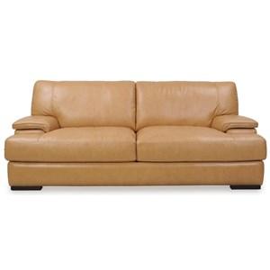Loft Leather Nassau Leather Sofa