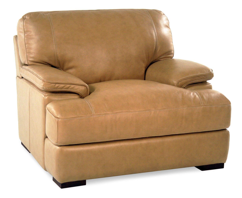 Loft Leather Nassau Leather Chair - Item Number: 10027-20-NASSAUTAN