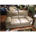 Futura Leather 10105 Casual Loveseat - Item Number: 10105-20 1425S