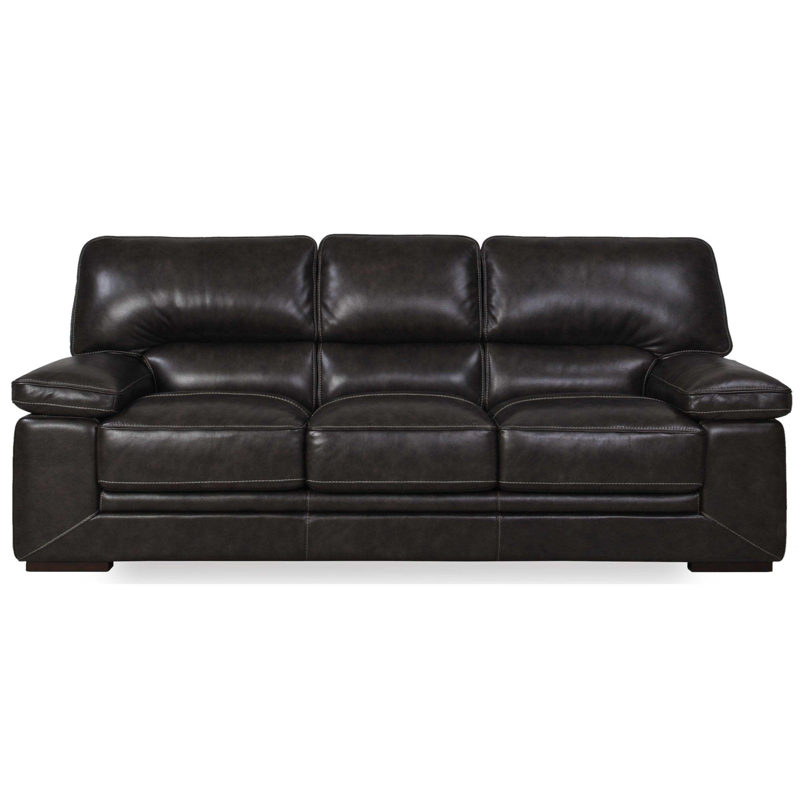 Futura Leather 10105 Sofa - Item Number: 10105-30 1425S