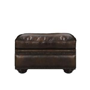 Futura Leather McGregor Leather Ottoman