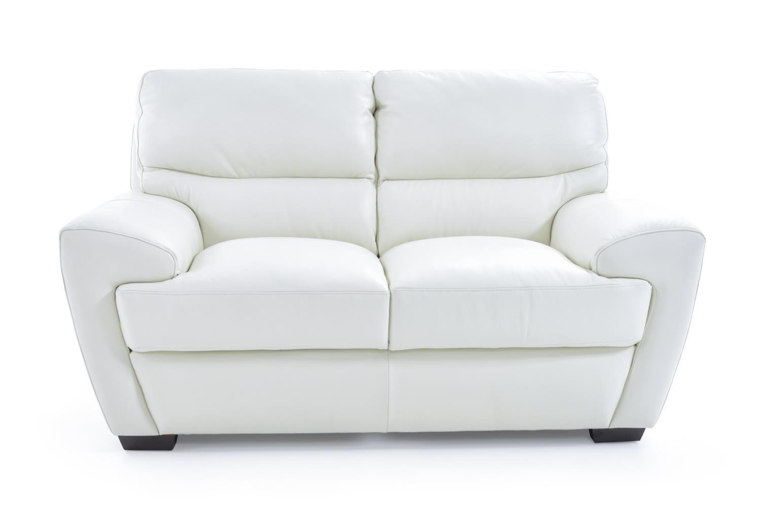 Futura Leather 10131 10131 20 1296s Contemporary Loveseat
