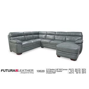Futura Leather 10020 Sectional