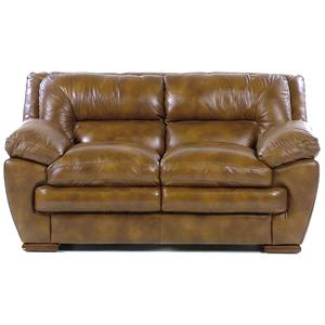 Loft Leather Carlos Loveseat