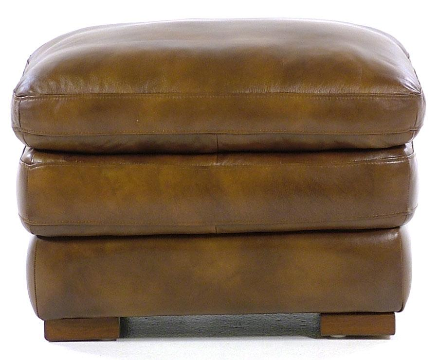 Loft Leather Carlos Ottoman - Item Number: 6788-OTT