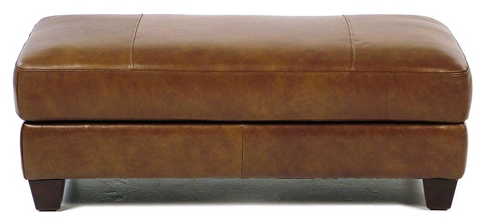 Loft Leather Bryce Storage Cocktail Ottoman - Item Number: 8000-63