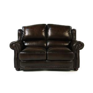 Loft Leather Kirkland Leather Loveseat