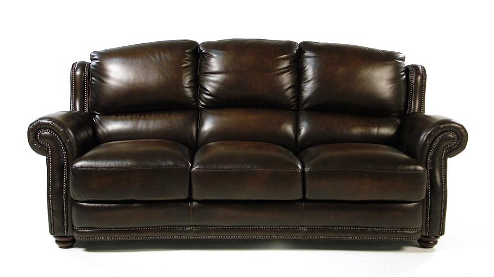 Loft Leather Kirkland Leather Sofa - Item Number: 8442-30