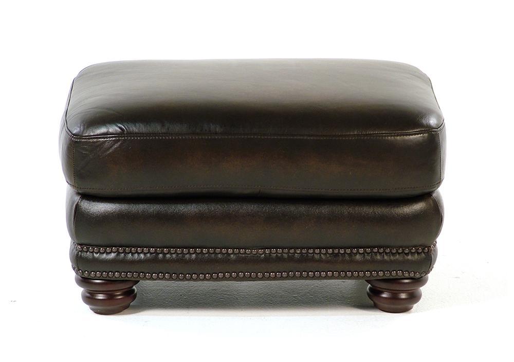 Loft Leather Kirkland Leather Ottoman - Item Number: 8442-60