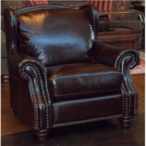 Futura Leather 7031 1941S Rialto Coffee Leather Chair