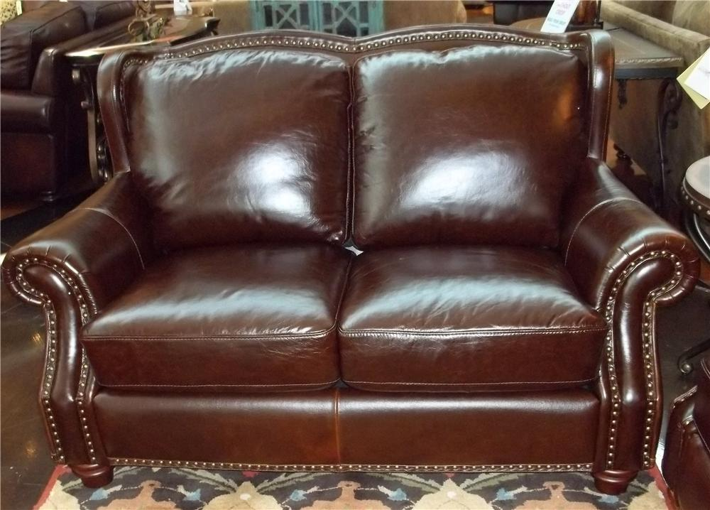 Futura Leather 7031 1941S Rialto Coffee Leather Loveseat - Item Number: 7031 Loveseat