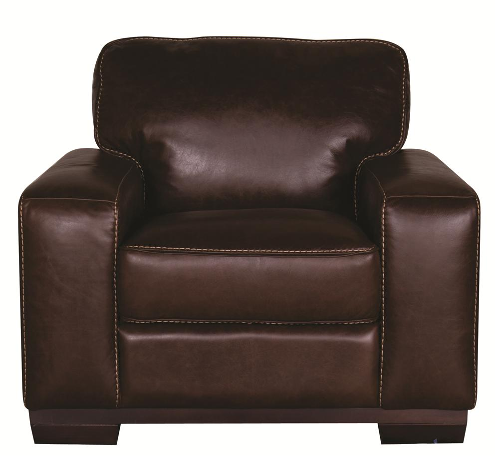 Morris Home Furnishings Erin Erin 100% Leather Chair - Item Number: 113165434