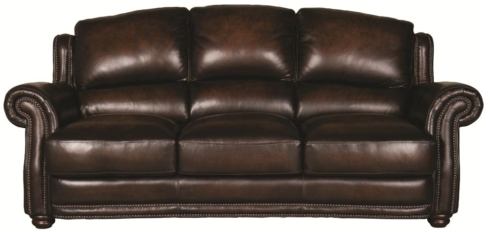 Morris Home Furnishings Harrison Harrison 100% Leather Sofa - Item Number: 8442S