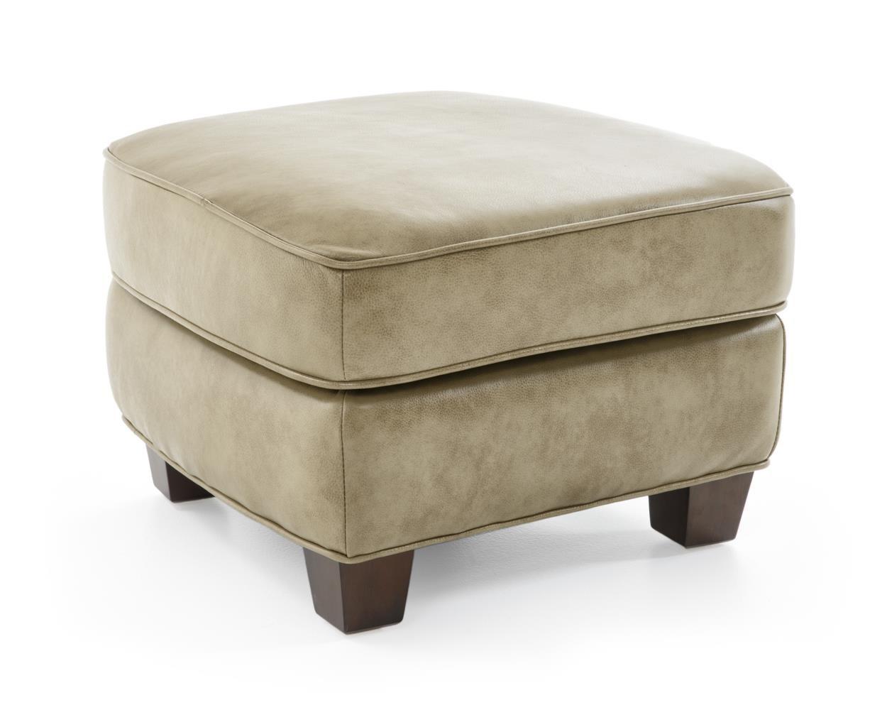 Futura Leather 6307 Storage Ottoman - Item Number: 6307-63 1420F SANIBEL