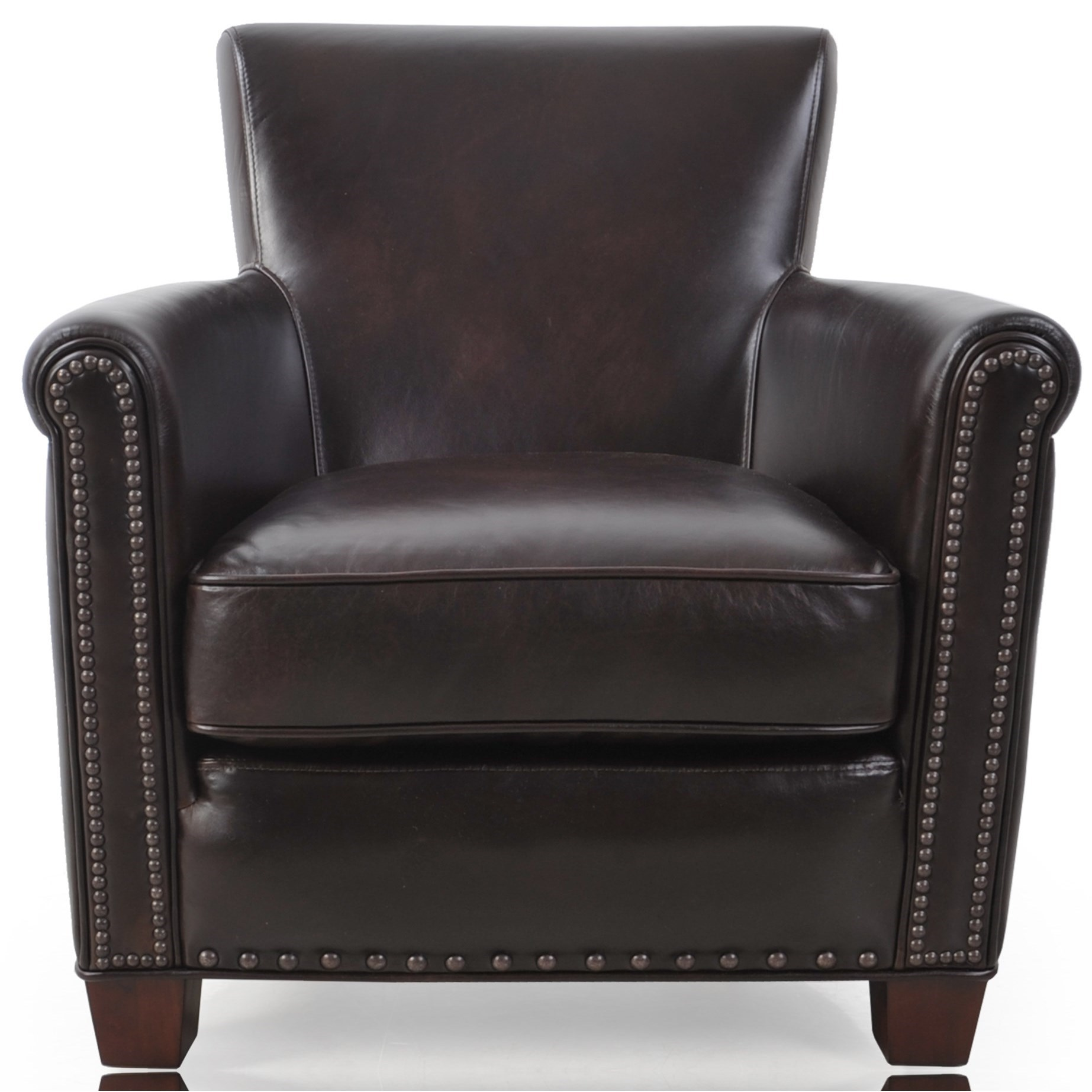 Futura Leather 6307 Transitional Chair - Item Number: 6307N-10 N3300F