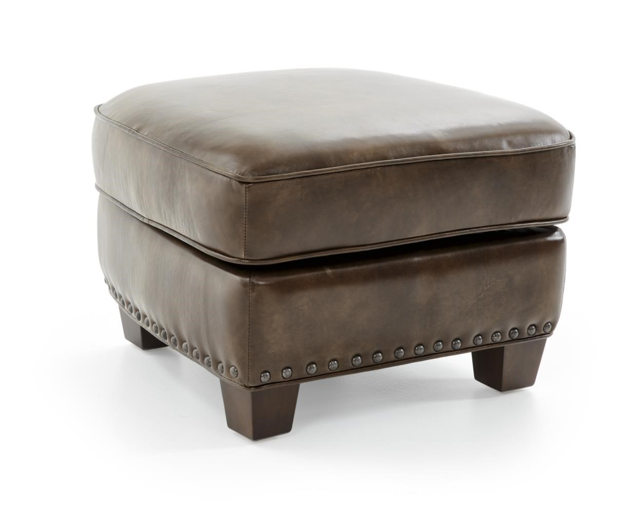 Futura Leather 6307 Storage Ottoman - Item Number: 6307N-63 2079F EPIC