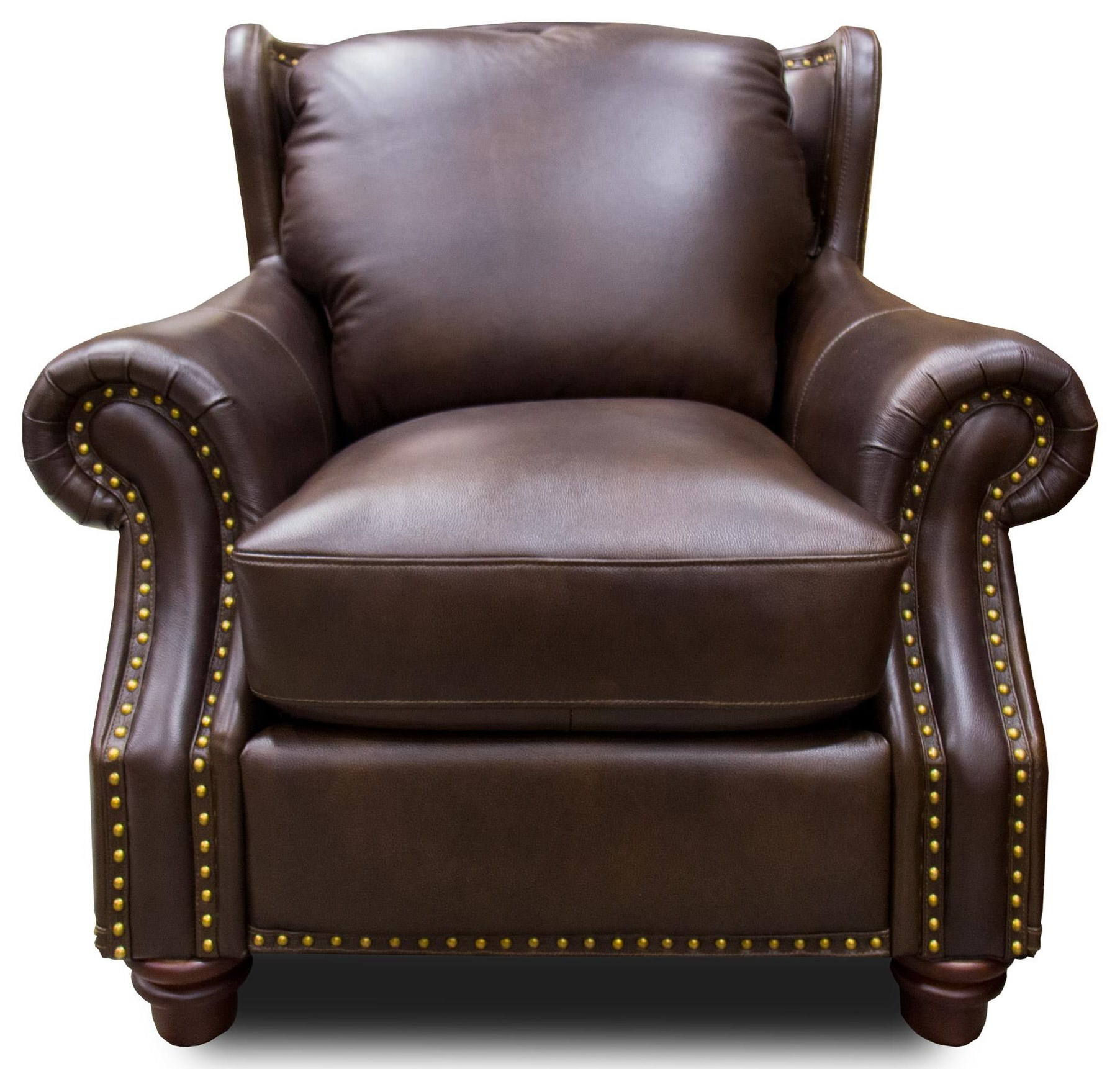 Futura Leather Rancho Mountain Leather Chair - Item Number: 7031-CHAIR-1431S
