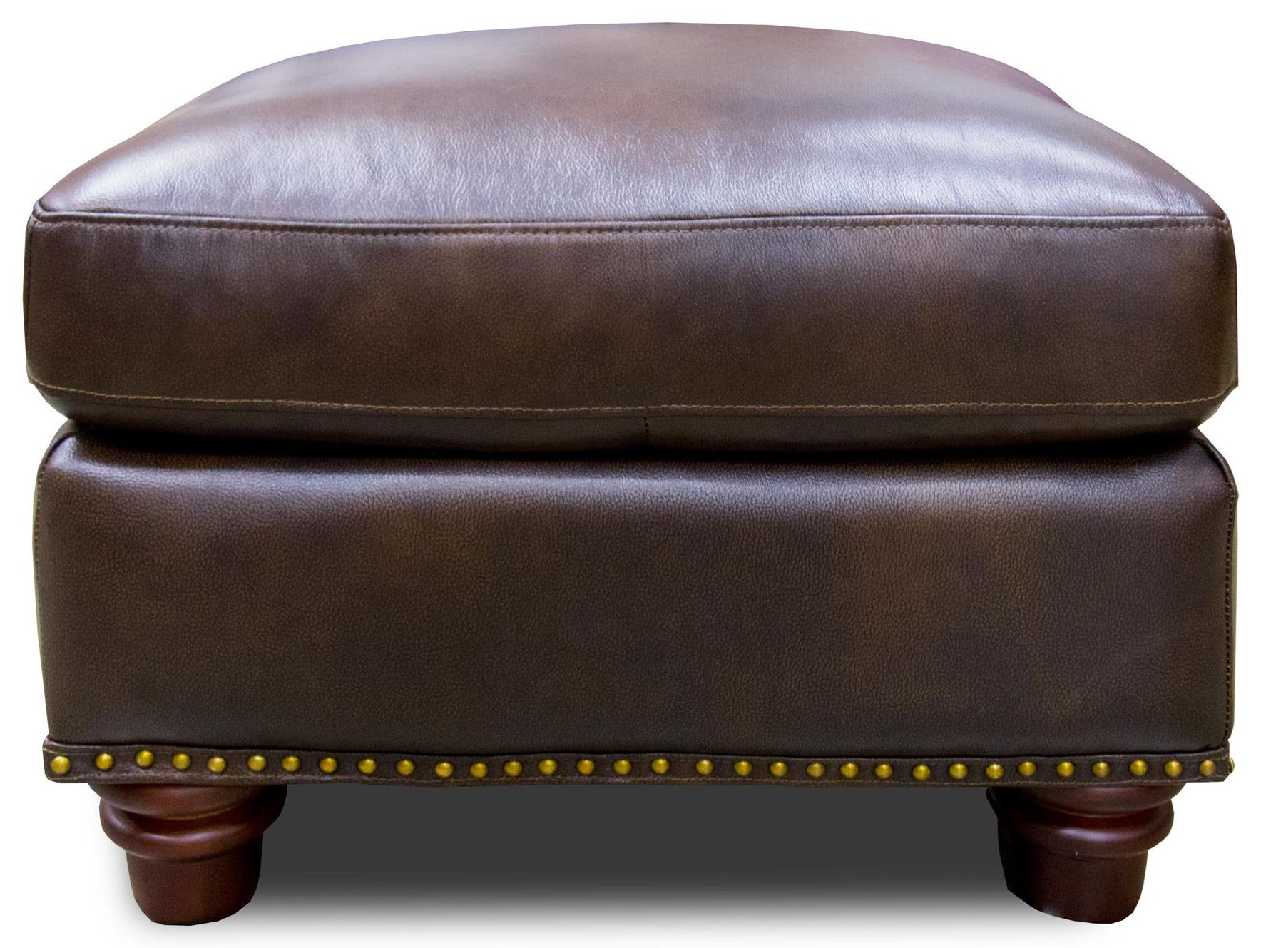 Futura Leather Rancho Mountain Leather Ottoman - Item Number: 7031-OTTO-1431S