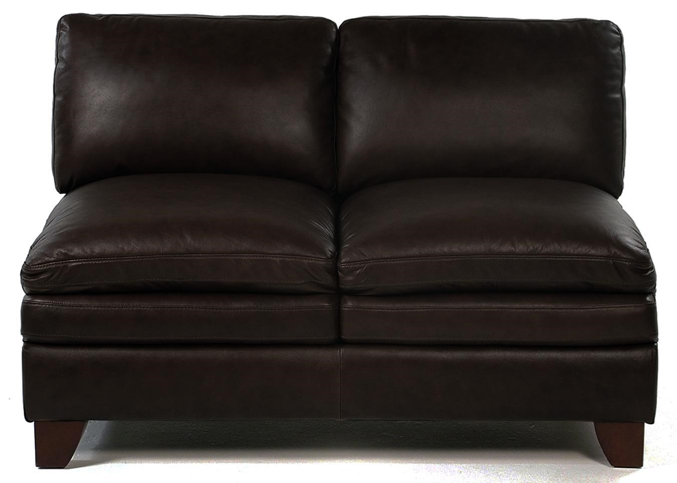 Loft Leather Pacific Armless Loveseat - Item Number: 7203-29