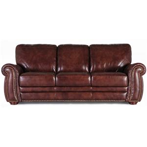 Futura Leather 7309 Stationary Sofa