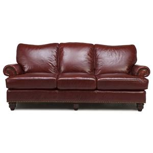 Futura Leather 7310 Stationary Sofa