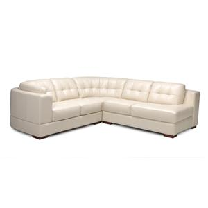 Dante Leather 7490 Sectional Sofa