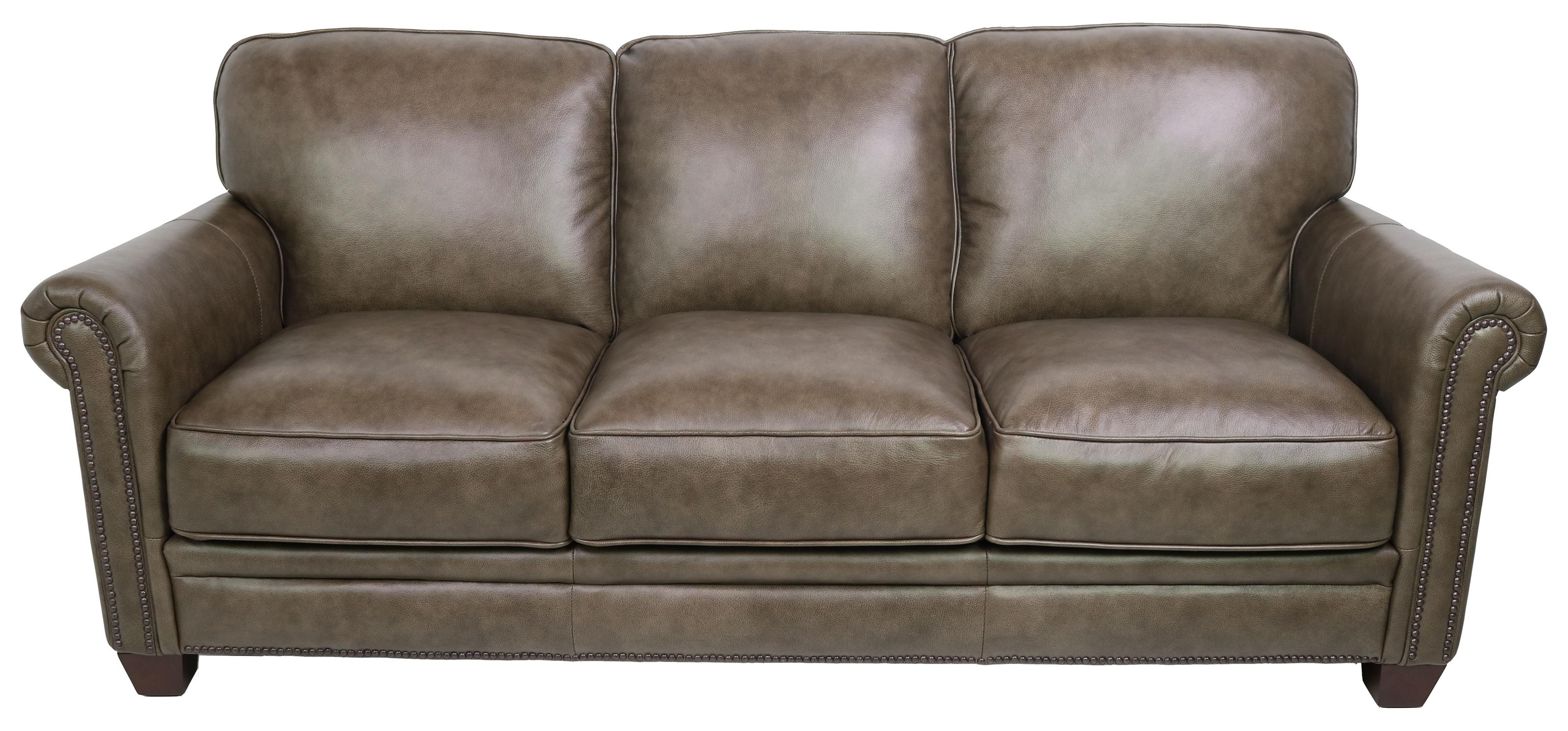7888 Leather Sofa by Dante Leather at Sprintz Furniture