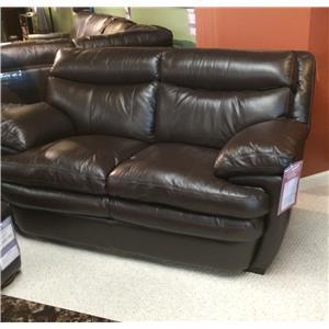 Futura Leather 8172 Leather Loveseat