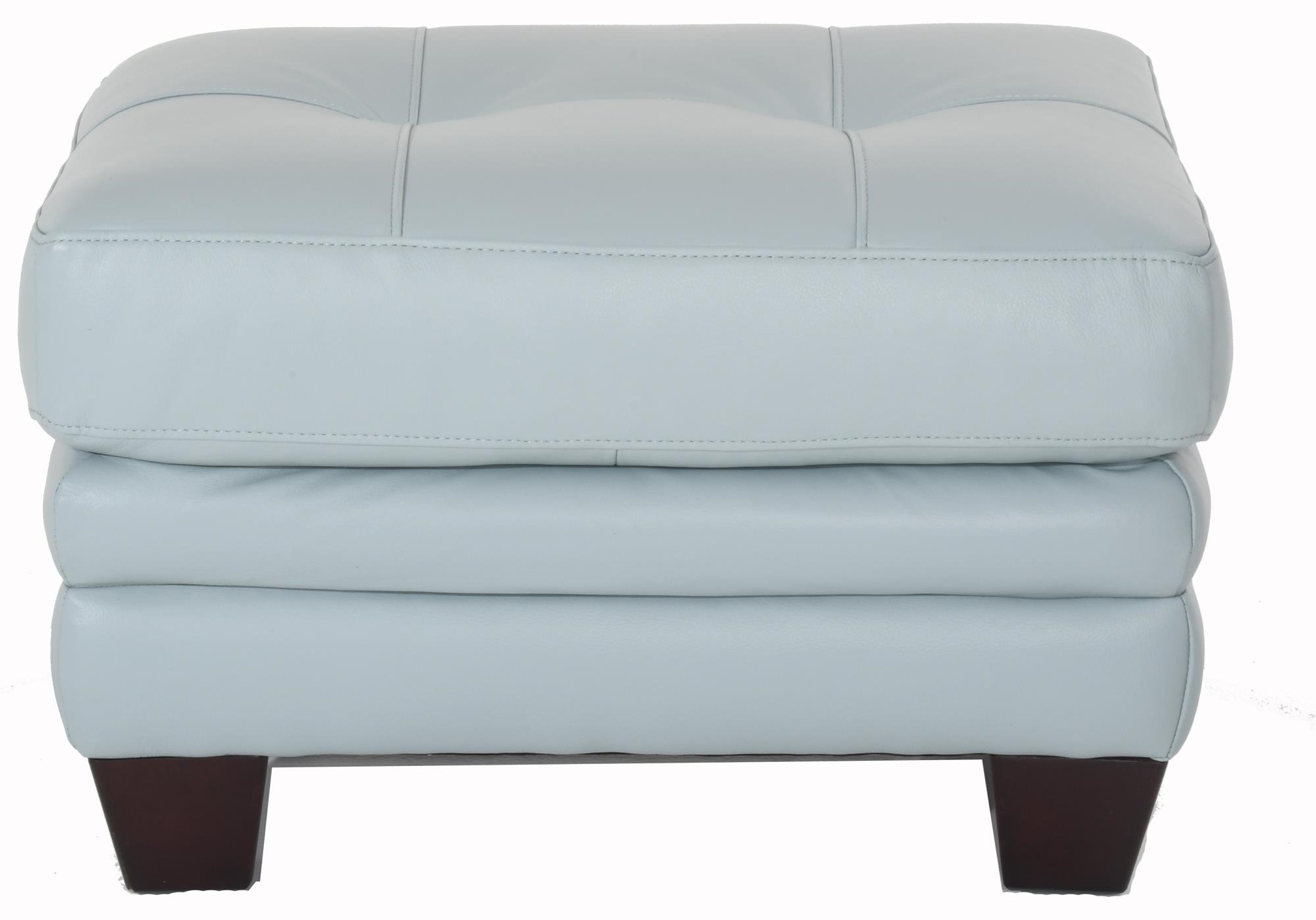 8511 Leather Ottoman by Futura Leather at Baer's Furniture