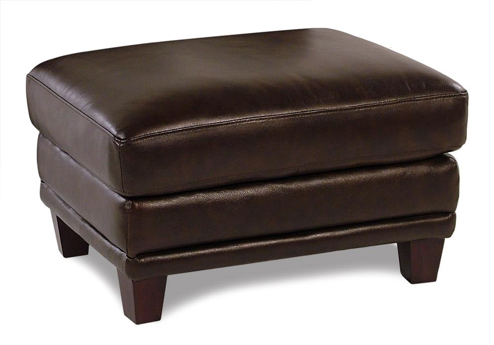 Loft Leather Winfield Leather Ottoman - Item Number: 8583-18