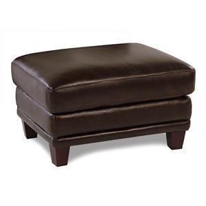 Loft Leather Winfield Leather Ottoman