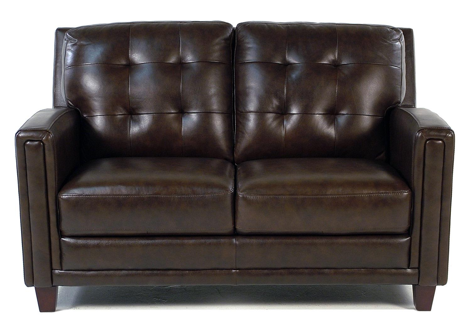Loft Leather Winfield Leather Loveseat - Item Number: 8583-20