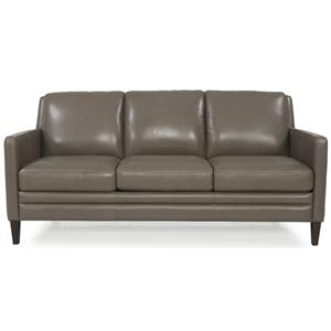 Dante Leather 8648 Stationary Sofa